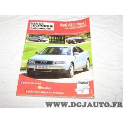 RTA revue technique automobile livre documentation entretien conduite etude technique B730.5 pour audi A4 de 2001 à 2004 1.9TDI