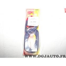Rallonge 2m 200cm cable audio RCA Phonocar 04232