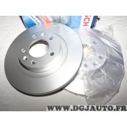 Paire disques de frein arriere 290mm diametre plein Bosch 0986479130 pour peugeot 508 dont SW