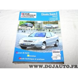 RTA revue technique automobile livre documentation entretien conduite etude technique 644.2 pour citroen xsara serie 2 II 1.9D 1