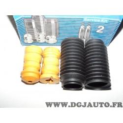 Paire soufflets amortisseur suspension arriere avec tampon Sachs 900011 pour audi 50 volkswagen corrado derby polo 1 2 I II pass