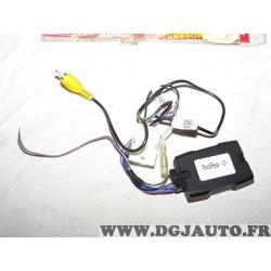 Boitier faisceau interface camera de recul Phonocar 05924 pour toyota 4runner auris avensis aygo celica camry corolla Fj cruiser