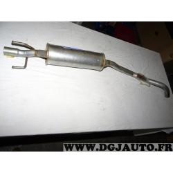 Silencieux echappement central intermediaire Bosal 281039 pour opel corsa B essence et diesel