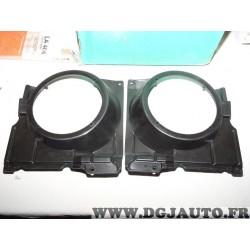 Paire bols support enceinte haut parleur 165mm diametre porte avant Norauto 26.150.B pour volkswagen polo partir 1999