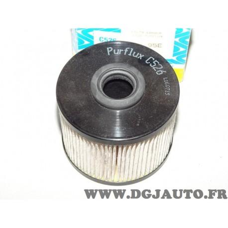 Filtre à carburant gazoil Purflux (joint non inclus) C526 pour citroen C4 C5 C8 DS4 DS5 jumpy ford focus 3 III cmax galaxy 2 II