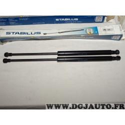 Lot 2 verins hayon de coffre force 480N Stabilus 9351XX pour opel astra H twintop