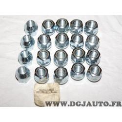 Lot 20 ecrous conique fixation roue jante M12x1.25 H21 Norauto 320371 2890912
