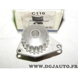 Pompe à eau (pate de montage au dos sans reclamation) Dolz C110* pour citroen AX berlingo BX C15 saxo xsara ZX peugeot 106 205 2