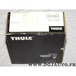 Kit pieds fixation barre de toit Thule KIT1492 pour honda accord sedan de 2008 à 2014 acura TSX de 2009 à 2014