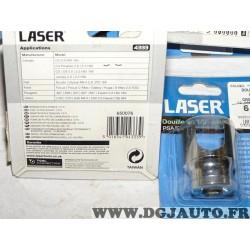 Douille clé filtre à carburant Lasertools 5270 4333 pour citroen C4 dont picasso C5 C8 jumpy fiat scudo ulysse 2 II ford focus c