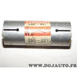Manchon raccord tuyau tube silencieux echappement Bosal 265891 pour BMW serie 3 5 323 520 525 E28 E30