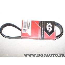 Courroie accessoire Gates 6PK1078 pour alfa romeo 145 146 147 156 GTV spider audi A1 A2 A4 BMW serie 7 8 E31 E32 citroen berling