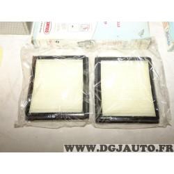 Paire filtres habitacle interieur Corteco CP1149 80000022 pour BMW E36 serie 3 compact