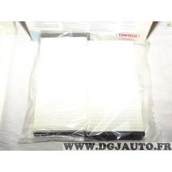 Paire filtres habitacle interieur Corteco CP1246 80000643 pour mitsubishi pajero V60 K70 K90