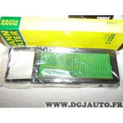 Filtre à air Mann filter C3324 pour honda city GE4 GM4 GM5 GM6 GM9 jazz GD GE2 GE3 1.2 1.3 1.4 1.5 essence
