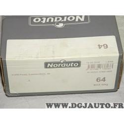 Kit pieds fixation barre de toit Norauto 64 738033 pour ford fiesta 6 VI version 5 portes partir de 2008