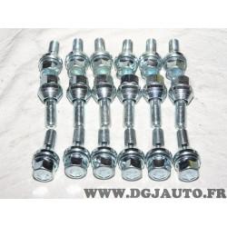 Lot 18 boulons conique M12X1.25 SW19 fixation roue jante Norauto 320377* 801116811Z*