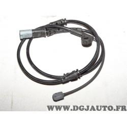 Contacteur capteur temoin usure plaquettes de frein Bosch AP848 1987473520 pour BMW X5 X6 E70 E71 E72 F15 F16 F85 F86