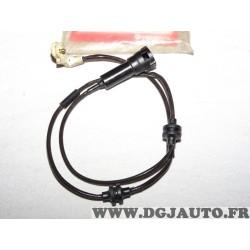 Contacteur capteur temoin usure plaquettes de frein Ferodo FWI243 pour opel omega B dont break