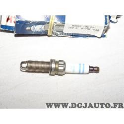 Lot 3 bougies allumage Bosch ZGR6STE2 0242140507 pour BMW serie 1 3 5 7 X6 Z4 E60 E71 E72 E82 E88 E89 E90 E91 E92 E93 F01 F02 F0