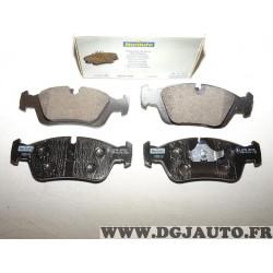 Jeux 4 plaquettes de frein avant montage teves Norauto NFP725 pour BMW E36 serie 3 dont Z3