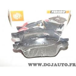 Jeux 4 plaquettes de frein avant montage teves Ferodo FDB4184 pour fiat doblo 3 4 III IV lancia delta 3 III