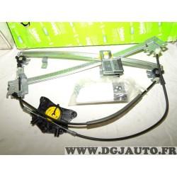 Mecanisme leve vitre electrique avant gauche SANS moteur Valeo 850604 pour volkswagen golf 5 V jetta 5 V