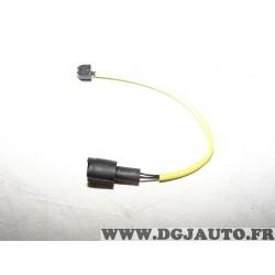 Contacteur capteur temoin usure plaquettes de frein Ferodo FWI236 pour BMW E28 E32 E34 serie 5 7