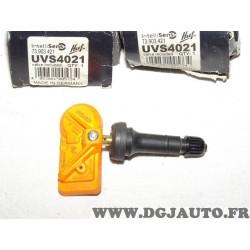 Capteur pression roue valve TPMS caoutchouc HUF UVS4021 73.903.421 universelle intellisens