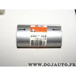 Manchon raccord 60x120 tuyau tube silencieux echappement Bosal 265123 pour BMW serie 3 5 E34 E36 diesel