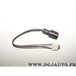 Contacteur capteur temoin usure plaquettes de frein Ferodo FWI204 pour BMW E30 serie 3 et Z1