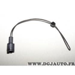 Contacteur capteur temoin usure plaquettes de frein Pex WK01SET pour BMW E28 E30 serie 3 5 dont M3 M5