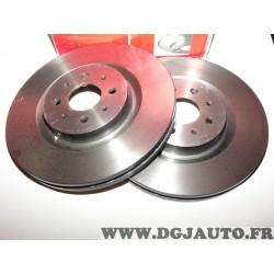 Paire disques de frein avant ventilé 305mm diametre Brembo 09800441 pour alfa romeo mito 1.4Tjet 1.4 T jet