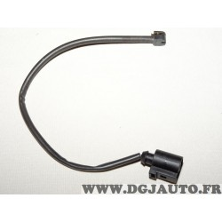 Contacteur capteur temoin usure plaquettes de frein Bosch 1987474567 AP857 pour volkswagen touareg partir de 2010