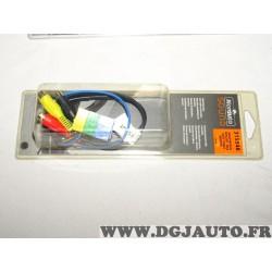 Cable adaptateur mini iso RCA poste radio autoradio Norauto 315548