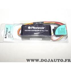 Convertisseur de courant prise allume cigare reducteur 24-12v 15A Phonocar 05207