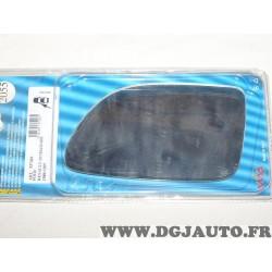 Vitre miroir glace de retroviseur avant gauche MAD 2055 537426 pour renault 19 R19 de 1988 à 1997