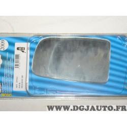 Vitre miroir glace retroviseur avant gauche MAD 2009 537414 pour peugeot 205