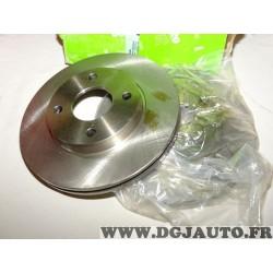 Paire disques de frein avant 258mm diametre ventilé Valeo 186560 pour ford fiesta 4 5 IV V focus 1 fusion ka puma mazda 2 DY 121