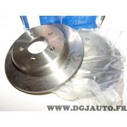 Paire disques de frein arriere 290mm diametre plein Bosch 0986479102 pour jeep wrangler cherokee dodge caravan chrysler voyager