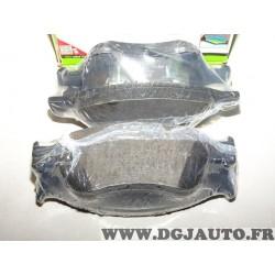 Jeux 4 plaquettes de frein avant montage teves Valeo 598845 pour audi A6 A8 volkswagen phaeton