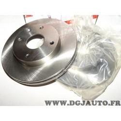 Paire disques de frein avant 256mm diametre ventilé Ferodo DDF1257 pour chevrolet daewoo epica evanda V200 lacetti J150 J200 nub