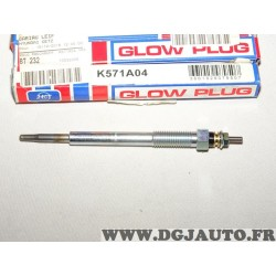Lot 2 bougies de prechauffe Glow plug K571A04 pour hyundai accent elantra getz i10 i20 i30 ix20 matrix kia carens ceed cerato ri