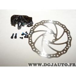 Kit disque de frein avec etrier roue avant NGTS 17313 452750 pour velo electrique wayscral W501