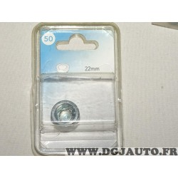 Bouchon de vidange 22mm carter huile norauto 50 715083