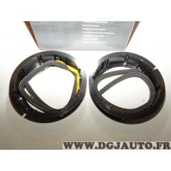 Paire supports fixation enceinte haut parleur 165mm diametre Norauto 170978 pour audi A2 seat altea toledo volkswagen golf 4 5 6