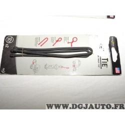 Lot 2 bandes ficelle fixation flexible 305mm reutilisable Niteize GT12-2PK-01