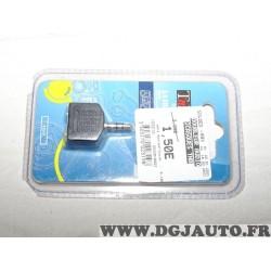 Adaptateur connecteur prise doubleur prise jack stereo 1 male 3.5 - 2 femelles 3.5 TNB ADA5 15006060