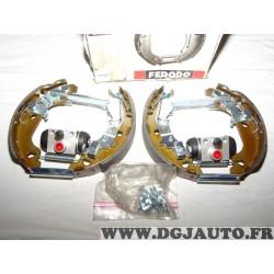 Kit frein arriere prémonté 180x30mm montage AP lockheed Ferodo FMK407 pour fiat punto 2 II partir de 1999