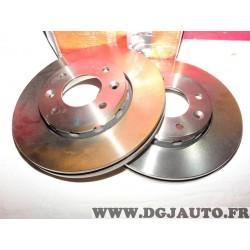 Paire disques de frein avant ventilé 280mm diametre Brembo 09.A149.10 pour kia carens 2 II partir de 2002